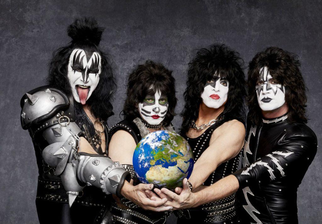 Kiss oslaví 40 let své kariéry v Brně