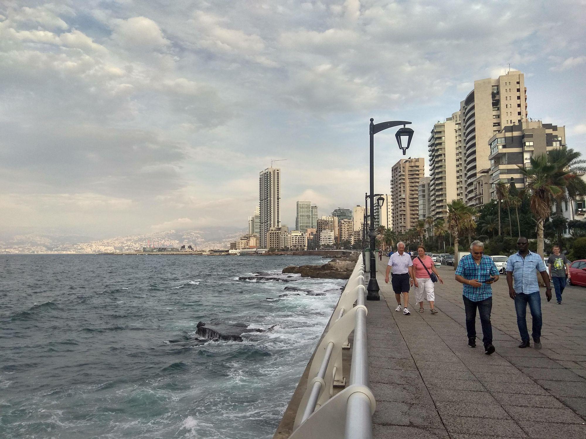 Bejrút, náplavka