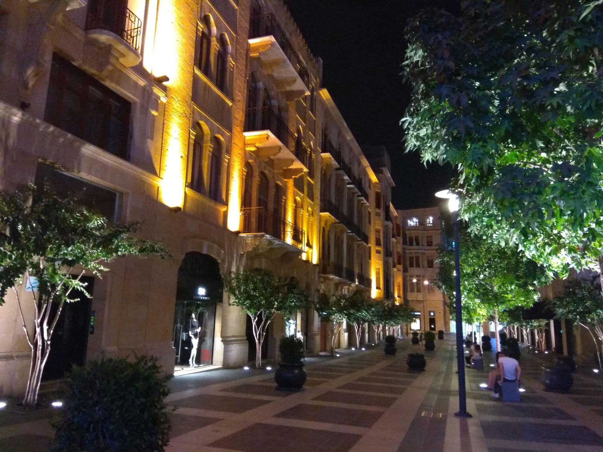 Bejrút, Down town