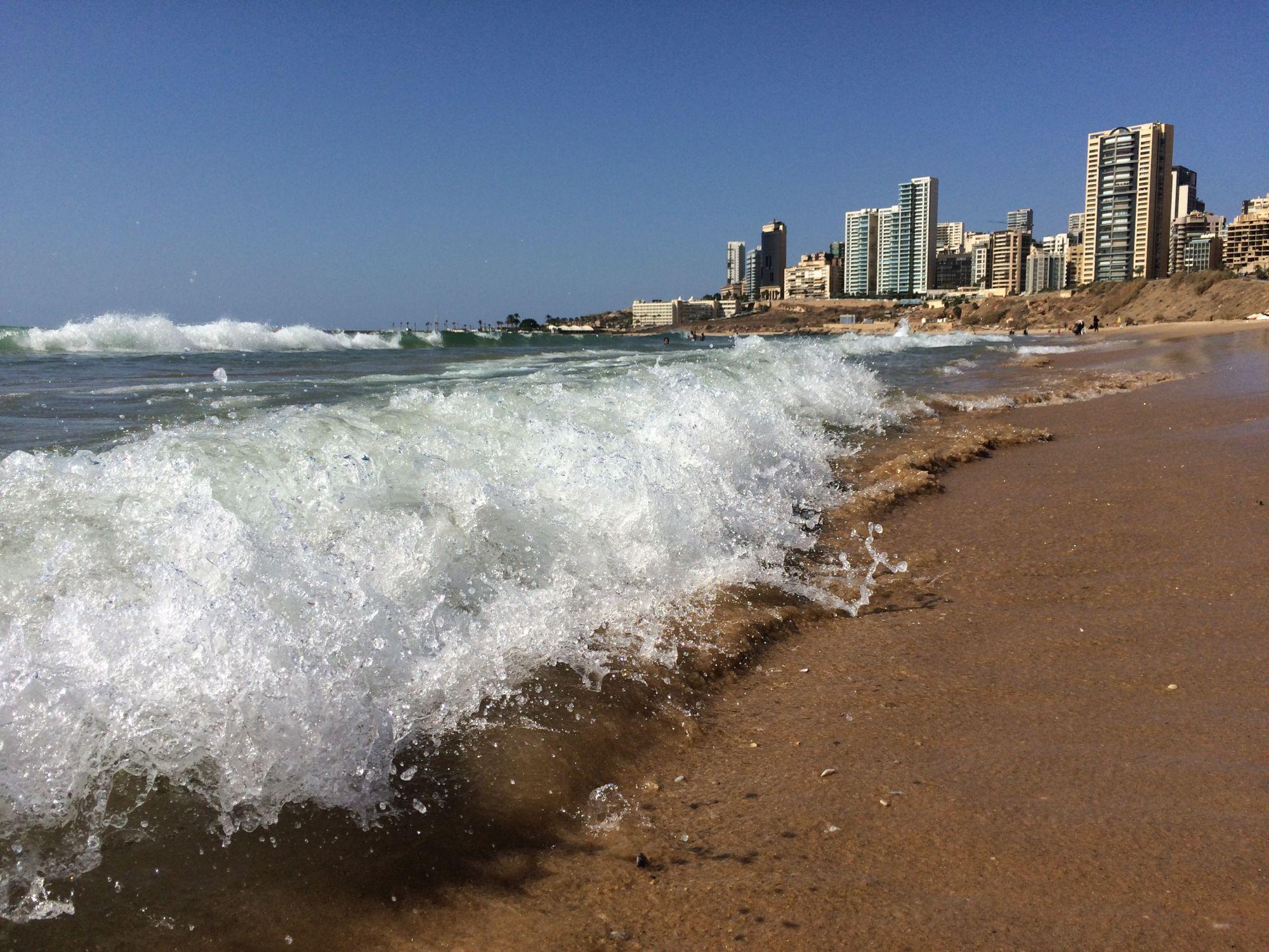 Bejrút, pláž