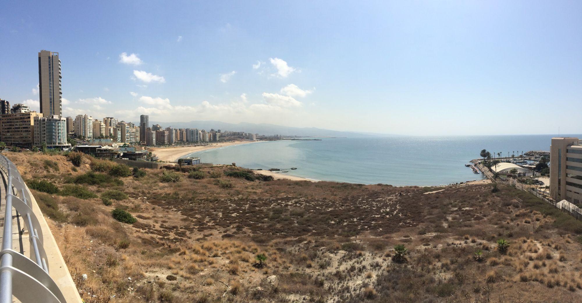 Bejrút, pobřeží