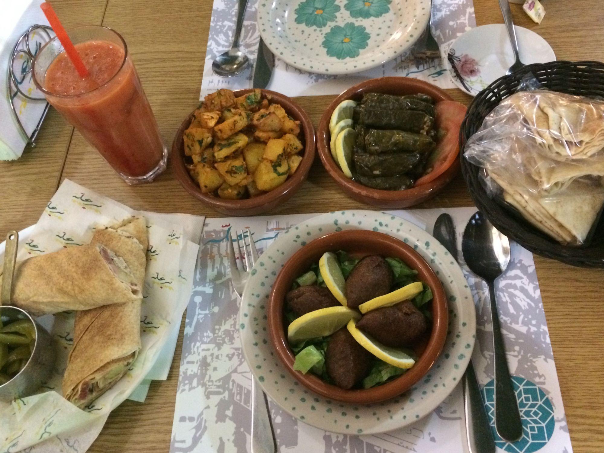 Bejrút, lahodná snídaně