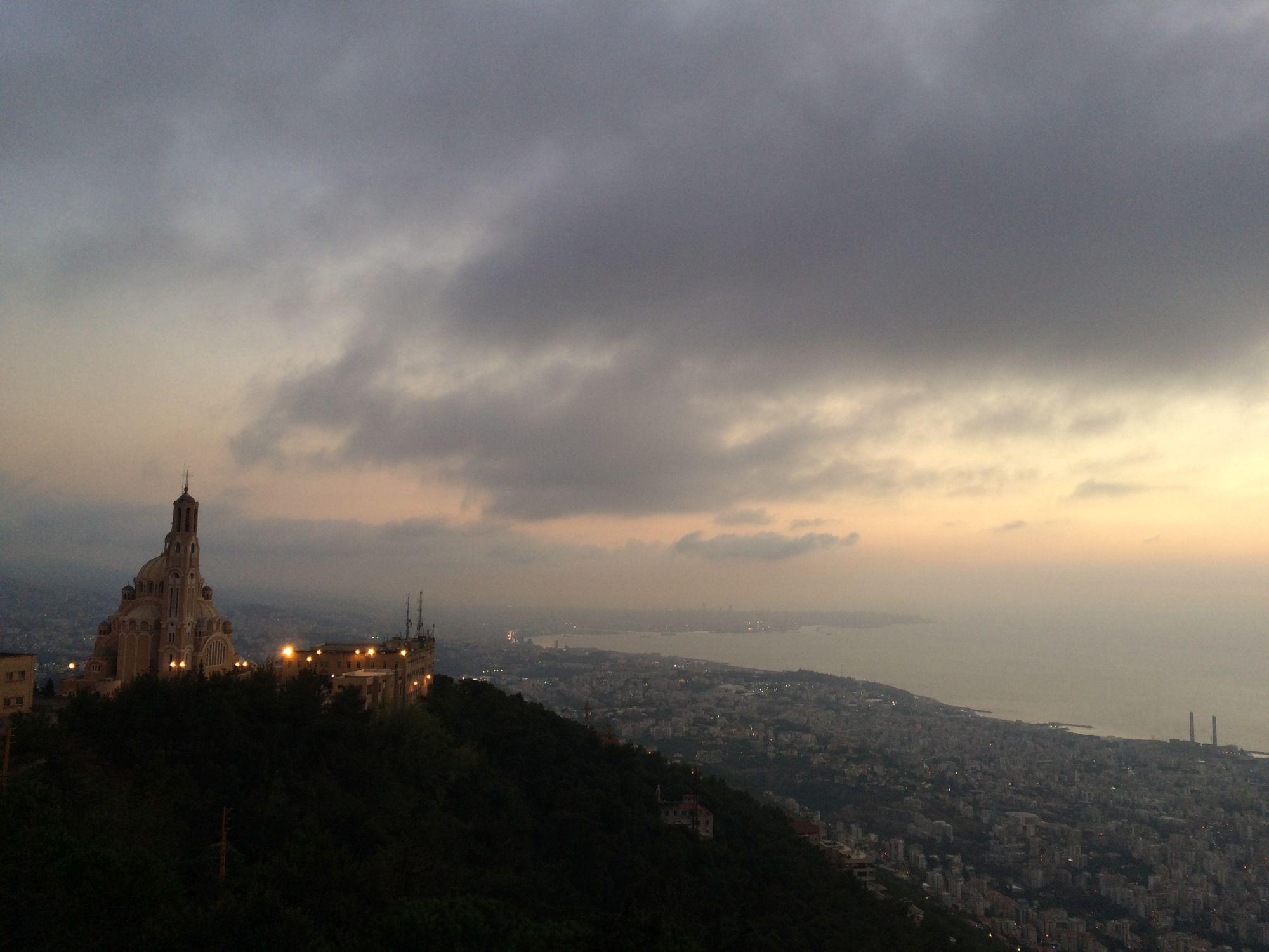 Bejrút, výhled
