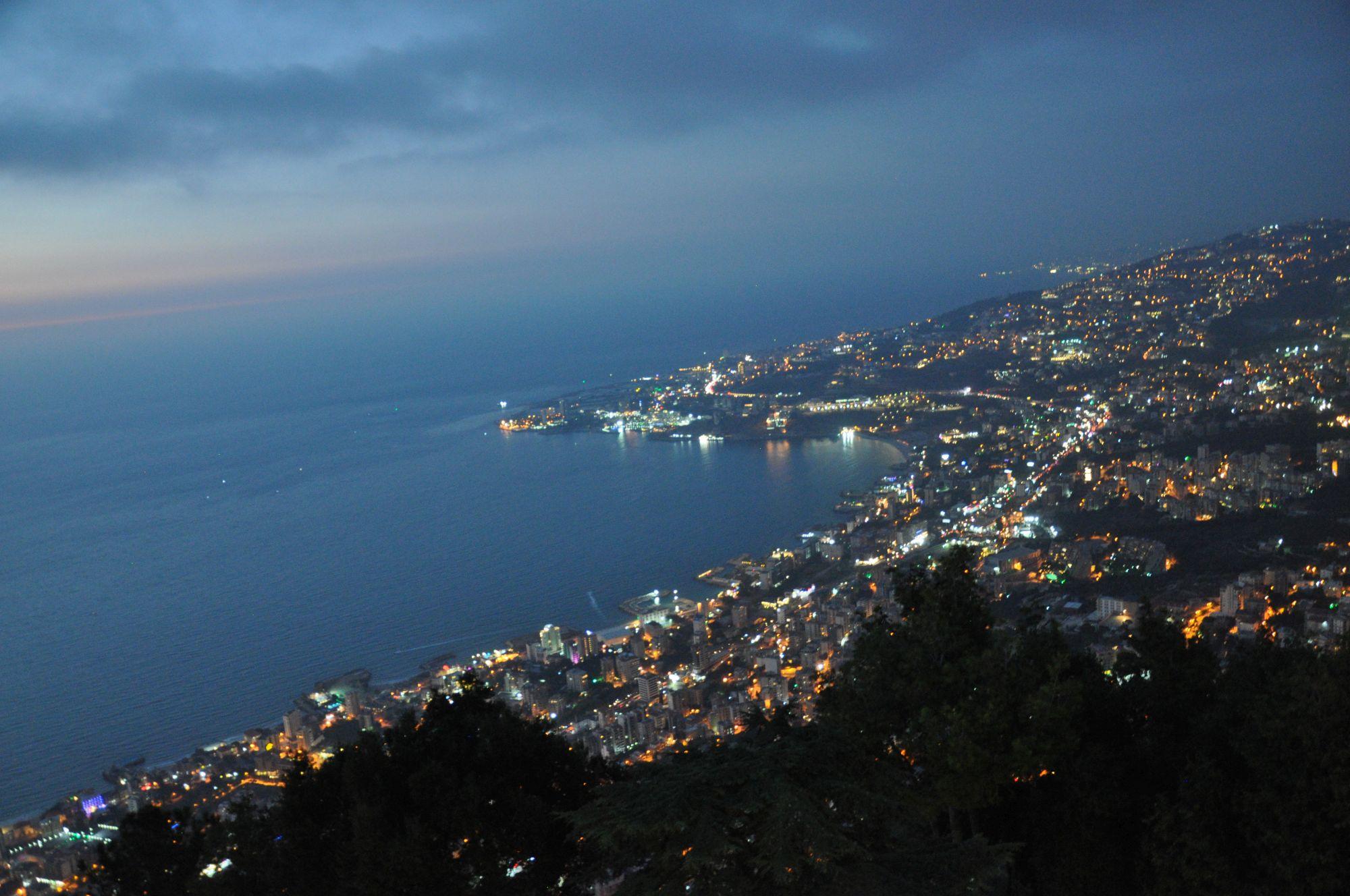 Bejrút, zářící pobřeží